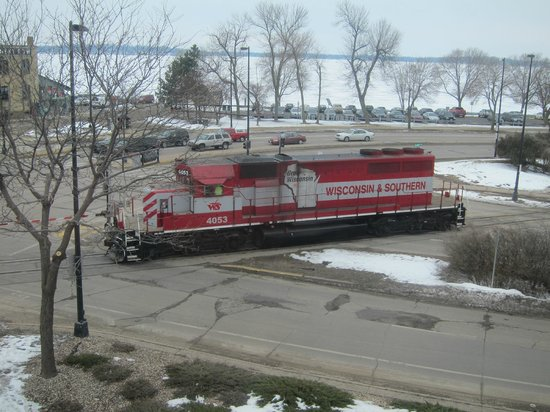 Hotel Ruby Marie: Roads, trains, and Lake Monona