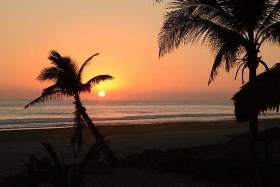 Playa Viva: Sunset