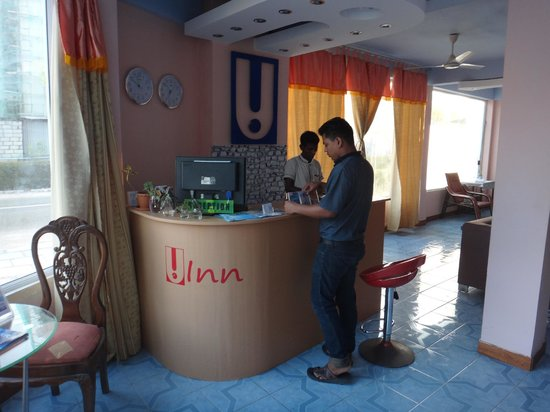 Hotel UI Inn:                   Check in desk