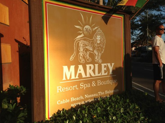 Marley Resort & Spa:                   Entrance