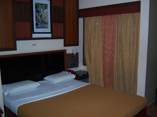 bedroom with mini fridge picture of annai residence pondicherry