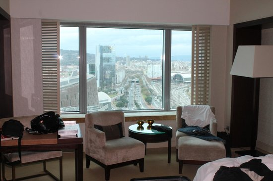 Hotel Arts Barcelona:                                     The view