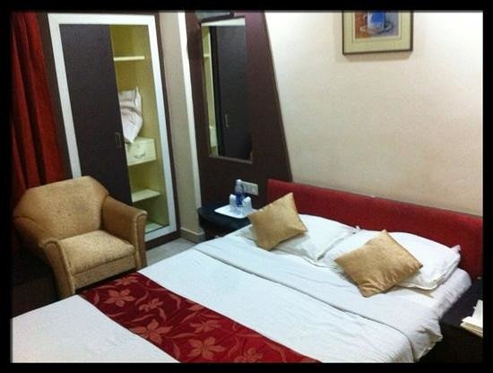 The Capital Trivandrum:                                     ample standard bedroom size - clean and working air con