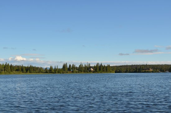 Nimpo Lake, Canada:                   Andy & Janes home and cabin