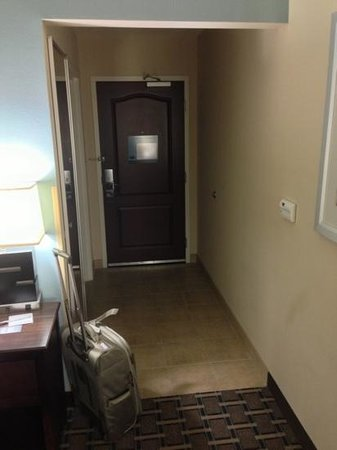 Hampton Inn &amp; Suites New Iberia: room entryway (234)