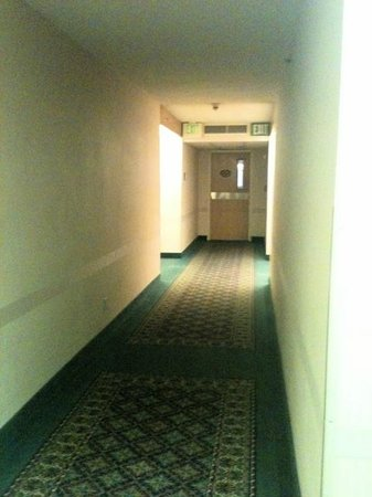Sleep Inn:                                     3rd floor hallway