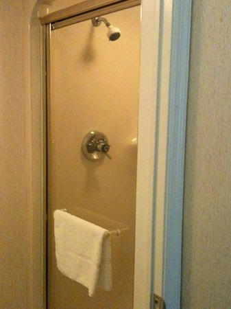 Sleep Inn:                                     Shower (no tub)