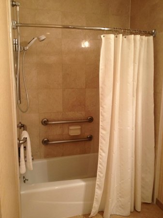 Inn on Broadway:                                     Shower