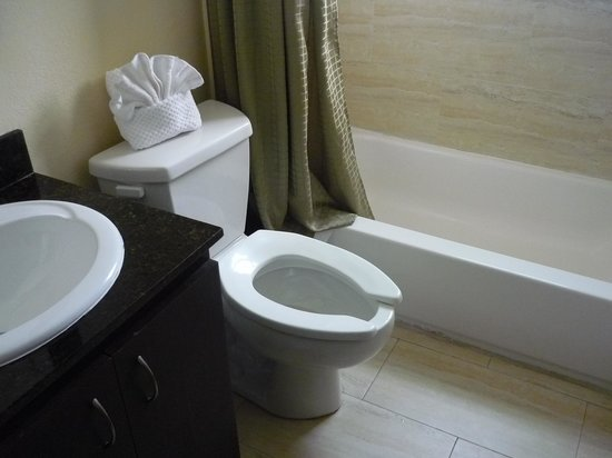 Tradewinds Apartment Hotel:                   restroom
