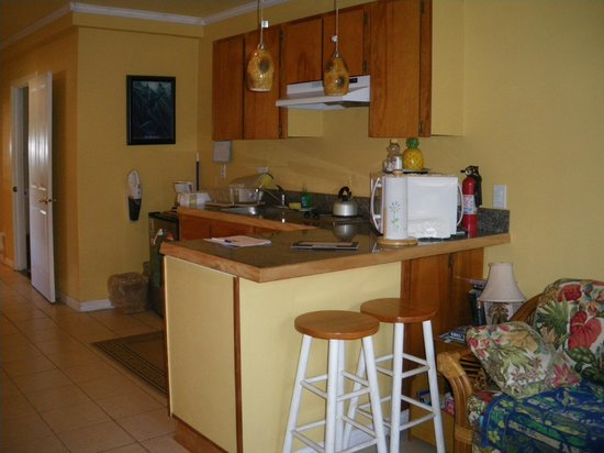 Maui Homestay B&B: Another view of the kitchen