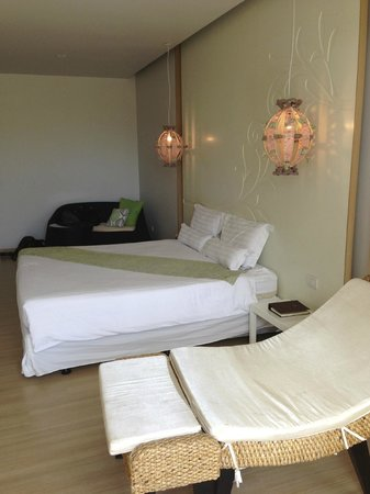The Lapa Hua Hin Hotel:                   The bed in our room. Big and comfortable