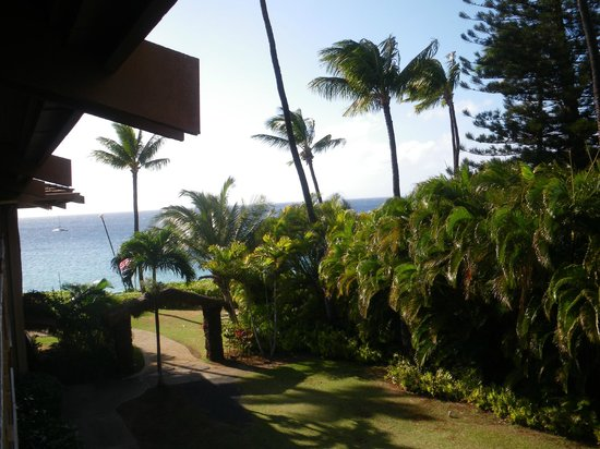 Kaanapali Ocean Inn: The view from room 1606 (3rd floor)