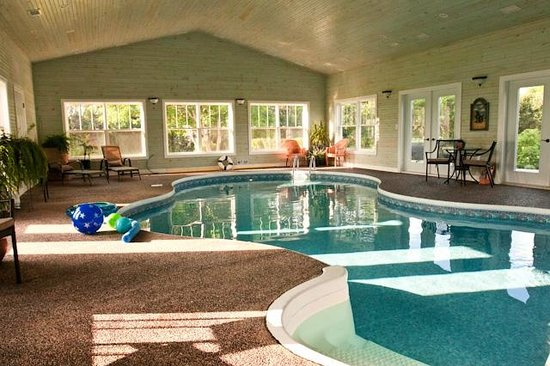 The Graham Inn:                   Start your day with a salt water swim in indoor pool