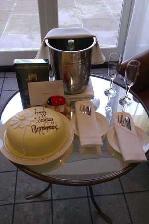 Rudding Park Hotel:                   Our 5th Wedding Anniversary treats...