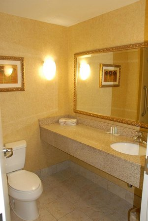 Comfort Suites:                                     Vanity