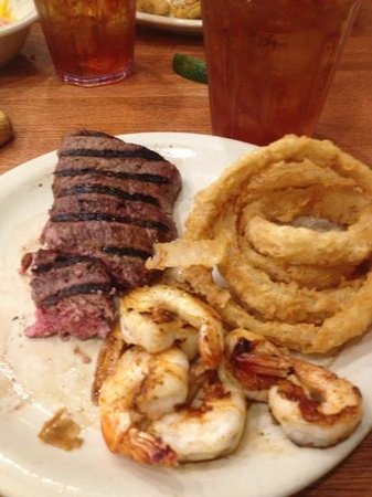 , :                   Steak and Shrimp Saturday Special!