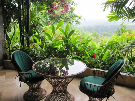 The Springs Resort and Spa at Arenal:                   Patio for room 101 - beautiful!!