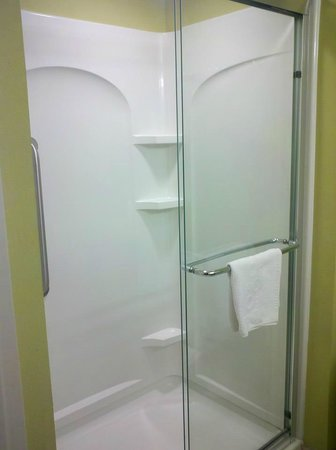 Home2 Suites by Hilton Nashville Vanderbilt:                   Shower