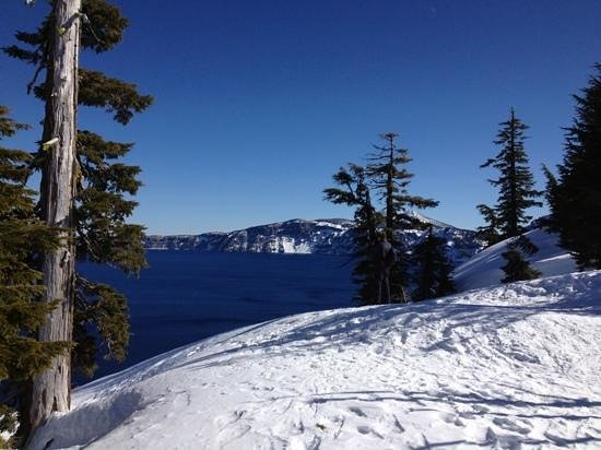 Sun Pass Ranch:                   Crater Lake, Feb. 2013
