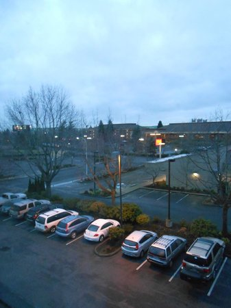 Oxford Suites Portland - Jantzen Beach:                   4th floor view