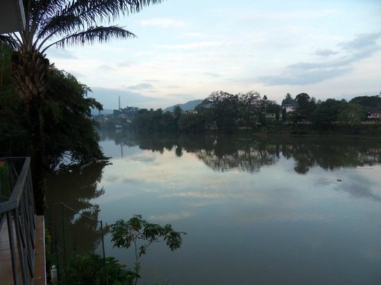 Mahaweli Reach Hotel:                   River view from room