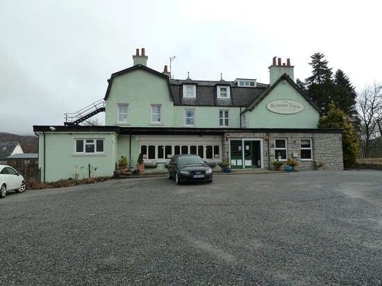Rowan Tree Country Hotel:                   The Hotel front