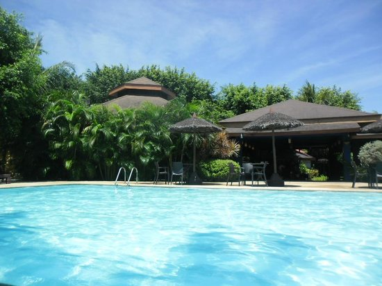 Cordova, Philippines:                   pool area