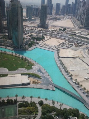 Armani Hotel Dubai:                   View from the Room