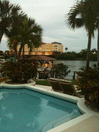 Crane Creek Inn Waterfront Bed and Breakfast:                   View from the pool