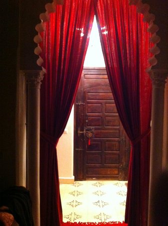 Bellamane, Ryad & Spa:                   From inside our room