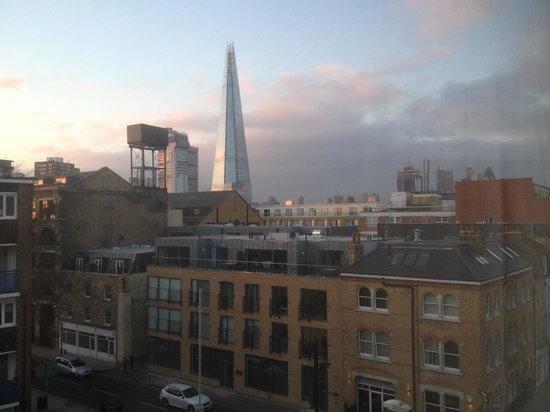 The Bermondsey Square Hotel :                                     View from hotel window