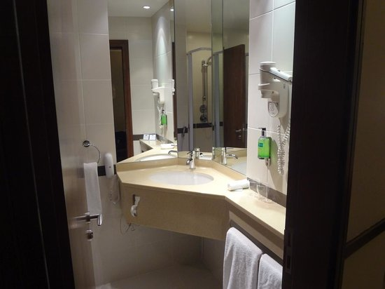 Bathroom Picture Of Holiday Inn Express Dubai Internet City Dubai Tripadvisor