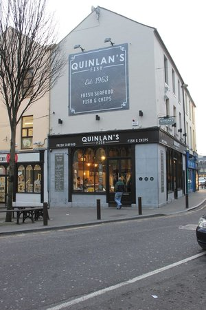 Quinlan Fish Shop on  the Mall Tralee, Co. Kerry