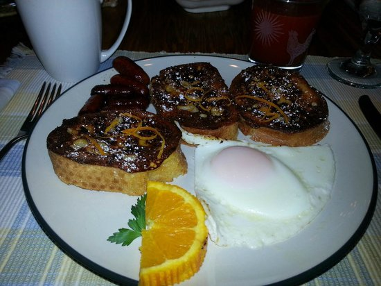 Ann and George&#39;s Bed &amp; Breakfast:                   Breakfast