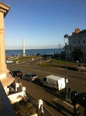 Milverton House Hotel:                   view from room 4