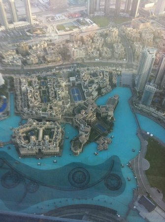The Palace Downtown Dubai:                   Hotel from the Burj Khalifa looking down (obviously)