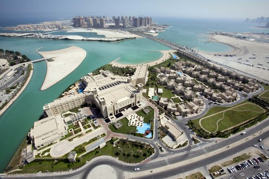 : Bird view of Grand Hyatt Doha