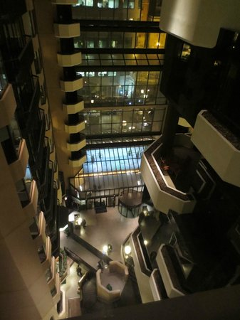 The Westin Washington, D.C. City Center: Uniquely designed layout with a view of the atrium