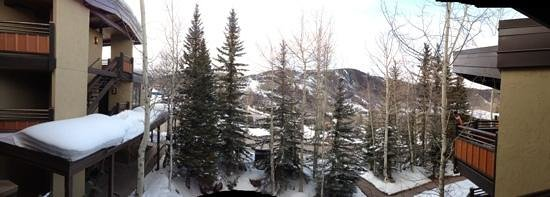 Laurelwood Studios: panoramic shot from condo balcony