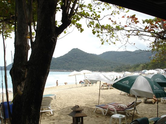 First Bungalow Beach Resort:                   view from the room