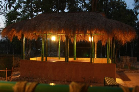 Nature-Hunt Eco Camp Kaziranga:                   Dining area