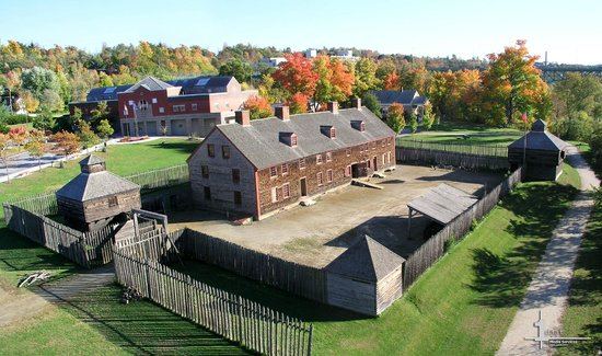 Old Fort Western Augusta Me On Tripadvisor Address