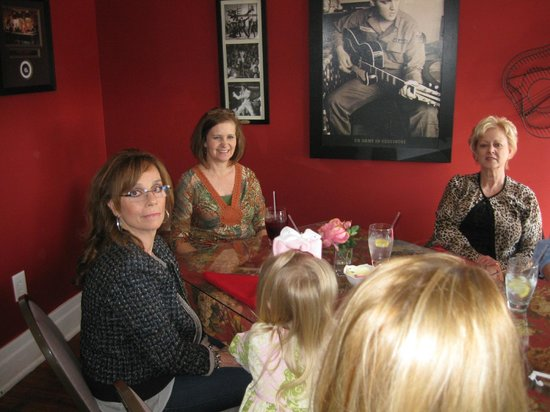 Family At Bridal Shower Elvis Room Picture Of Lulu S Tea