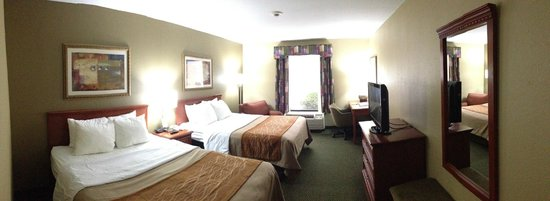 Comfort Inn Six Flags St. Louis:                   Here is an updated picture of there process.
