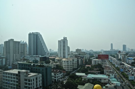 Majestic Grande Hotel:                   View from room