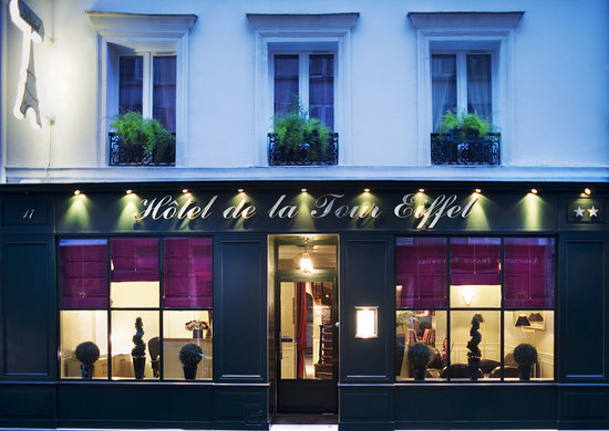 Hotel De La Tour Eiffel Paris France Hotel Reviews