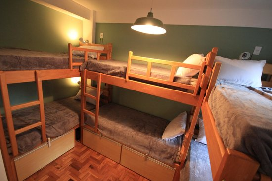 Rio Deal Bed & Breakfast: 6 beds room, shared bathroom