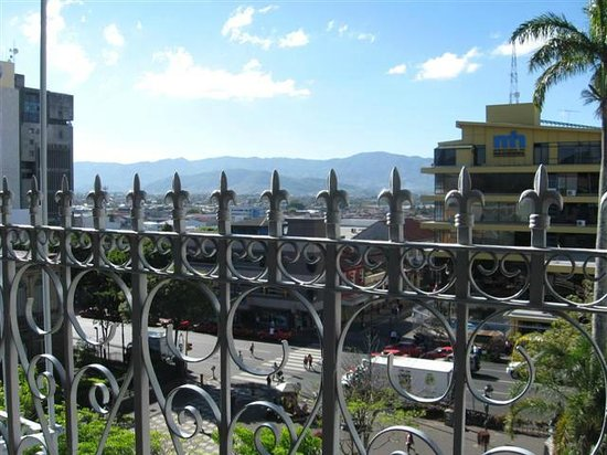 Gran Hotel Costa Rica:                   View from breakfast buffet area
