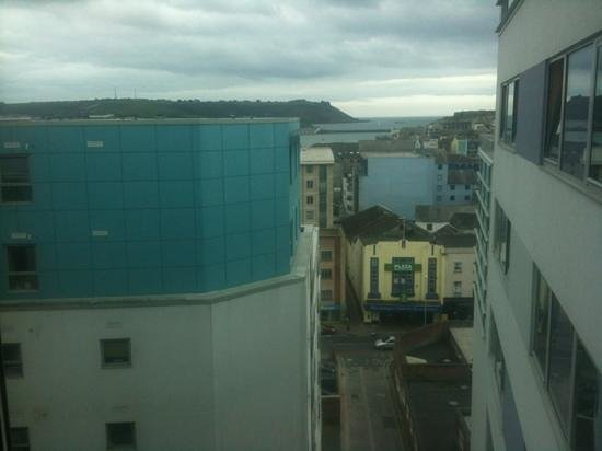 Jurys Inn Plymouth:                   one of the top floor room, Plymouth sound in view