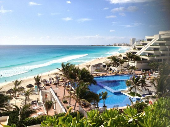 Grand Oasis Sens:                                     From room 628